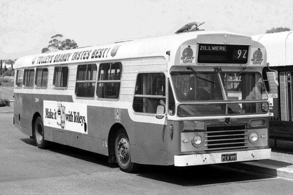 Brisbane Bus 1970