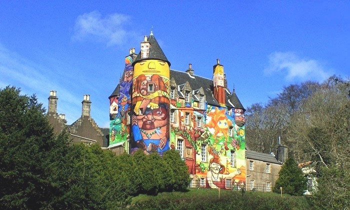 Castle Kelburn Scotland 01