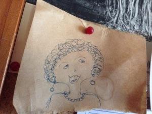 Doodle Margaret Thatcher
