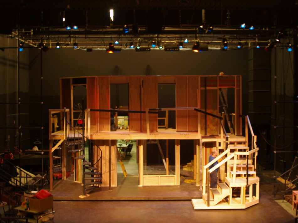 Noises Off Stage Set
