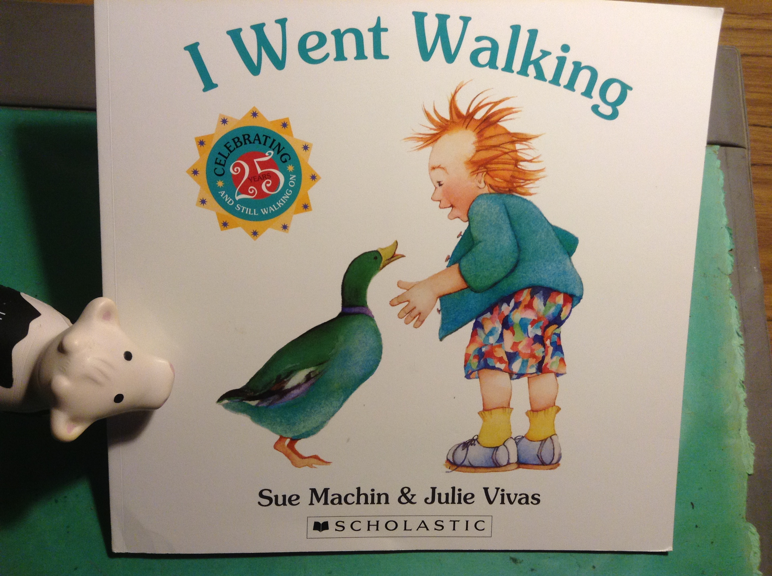 I Went Walking Picture Book