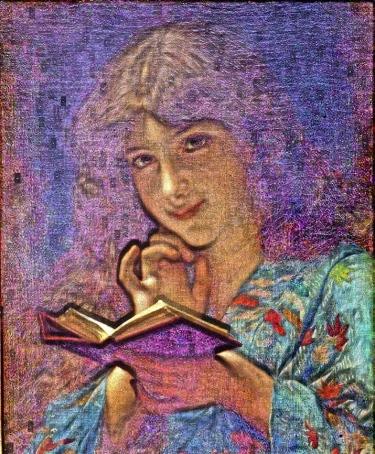 Reading Girl 11