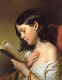 Reading Girl 17
