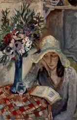 Reading Girl 19
