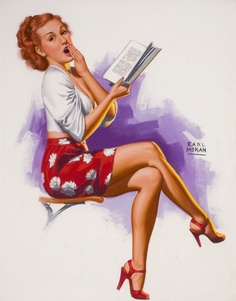 Reading Girl 21