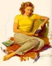 Reading Girl 22