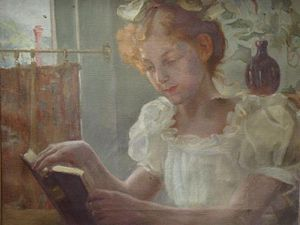 Reading Girl 25