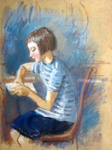 Reading Girl 27