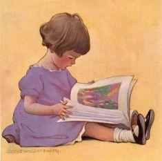 Reading Girl 36