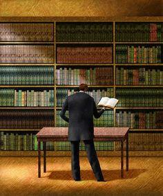 Men Reading Books 21