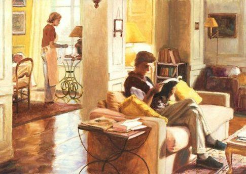 Men Reading Books 31