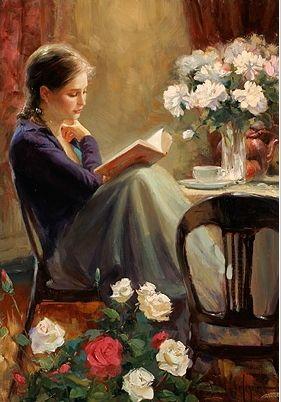 Reading Girl 54
