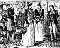 Victorian Gentleman in Black 06