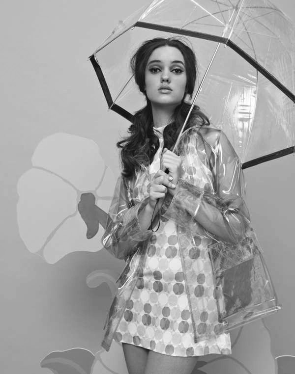 Umbrella The SeeThrough Raincoat and Brolly (2)