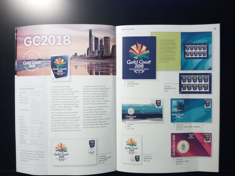 Commonwealth Games Stamp Issue 2018 01 (1)