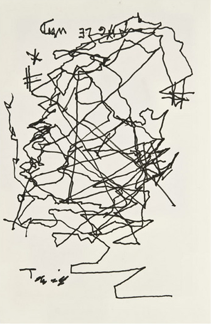 Jorge Luis Borges Self Portrait When Blind
