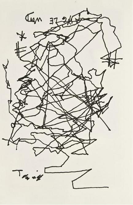 Jorge Luis Borges Self Portrait When Blind