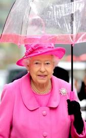 Umbrella Queen Elizabeth II 009