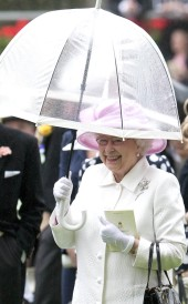 Umbrella Queen Elizabeth II 010