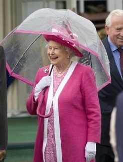 Umbrella Queen Elizabeth II 012