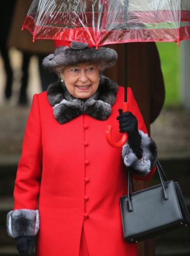 Umbrella Queen Elizabeth II 015