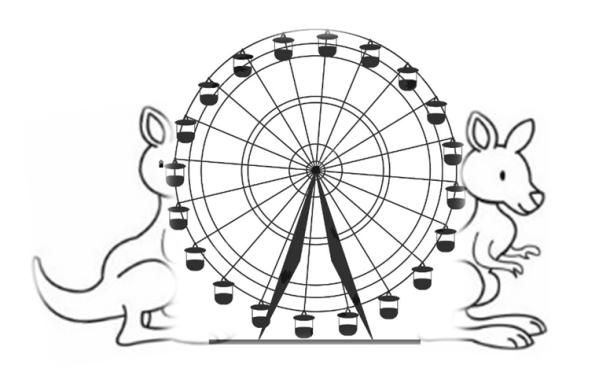 Wallabies Ferris Wheel