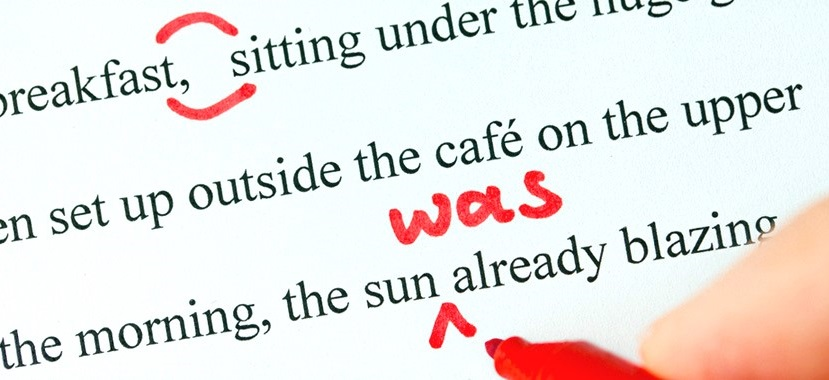 Proofreading Copy Editing Banner