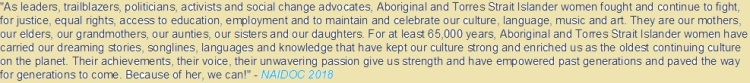 NAIDOC Week Statement 01
