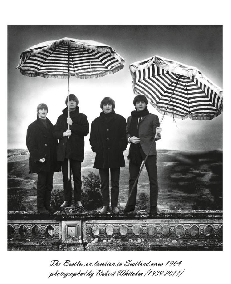 Umbrella The Beatles 1964 Scotland 02