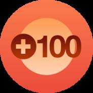 WordPress 100 Followers Milestone