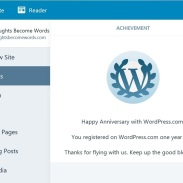 WordPress One Year Anniversary 2018 02