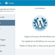 WordPress One Year Anniversary 2018 02