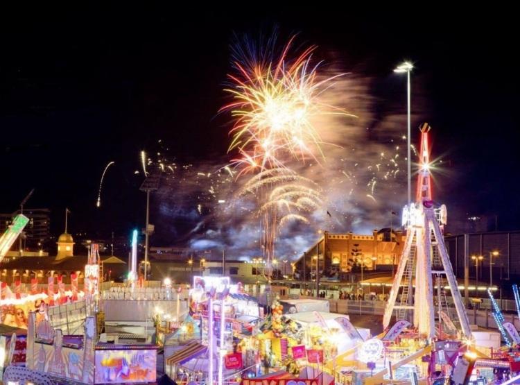 Ekka Fireworks