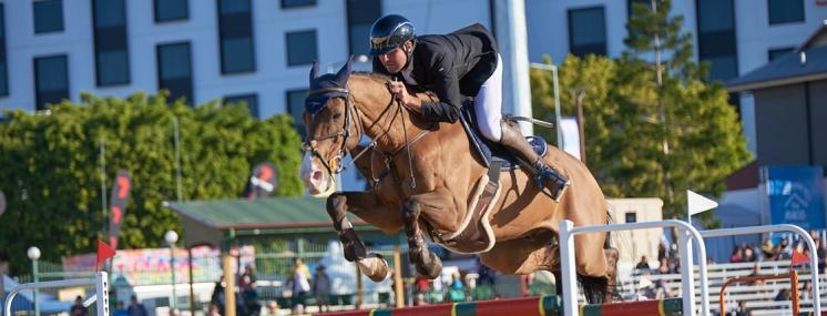 Ekka Showjumping Horse Event