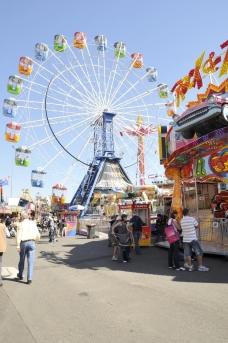 Ekka Sideshow Alley Ferris Wheel