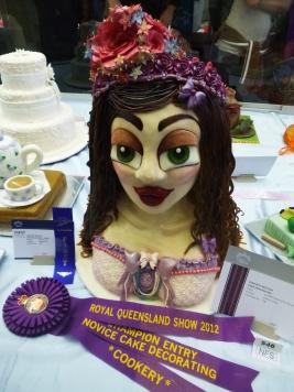 Ekka Winner Cake Decorating