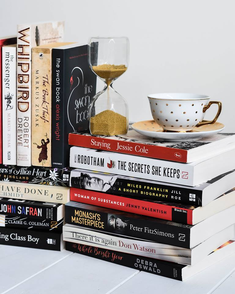 Australian Reading Book Stack 2018