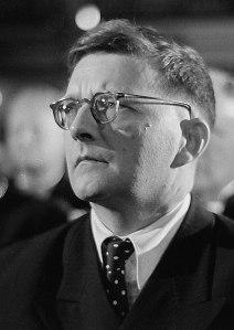 Russian Composer Dmitri Shostakovich