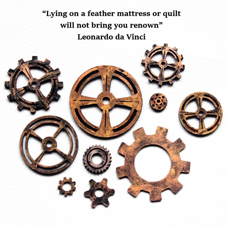 Gears and Cogs 15 Quotation