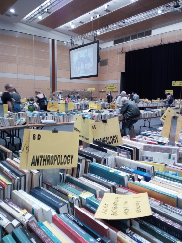 A corner of the UQ Alumni Book Fair 2019