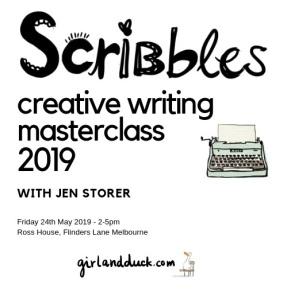 Scribbles Masterclass Information 2019
