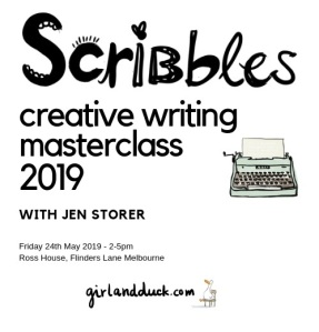 Scribbles Masterclass Information 2019