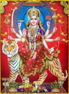 Indian Goddess Maa Durga Devi 03