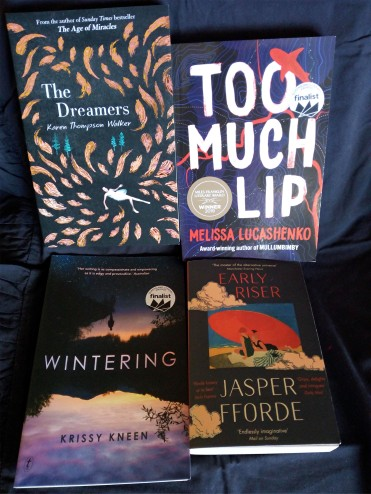 Part of my Brisbane Writers Festival quirky dream-related book haul.