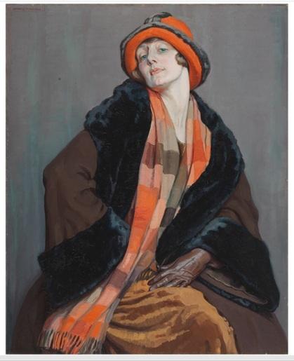 Ipswich Art Gallery IMAGE Hilda Rix Nicholas Une Australienne 1926