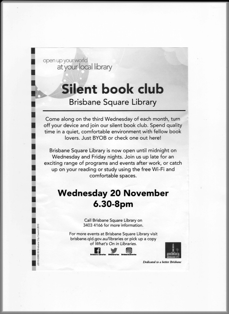 BCC Silent Book Club