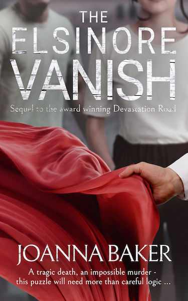 Joanna Baker The Elsinore Vanish Bookcover 2019