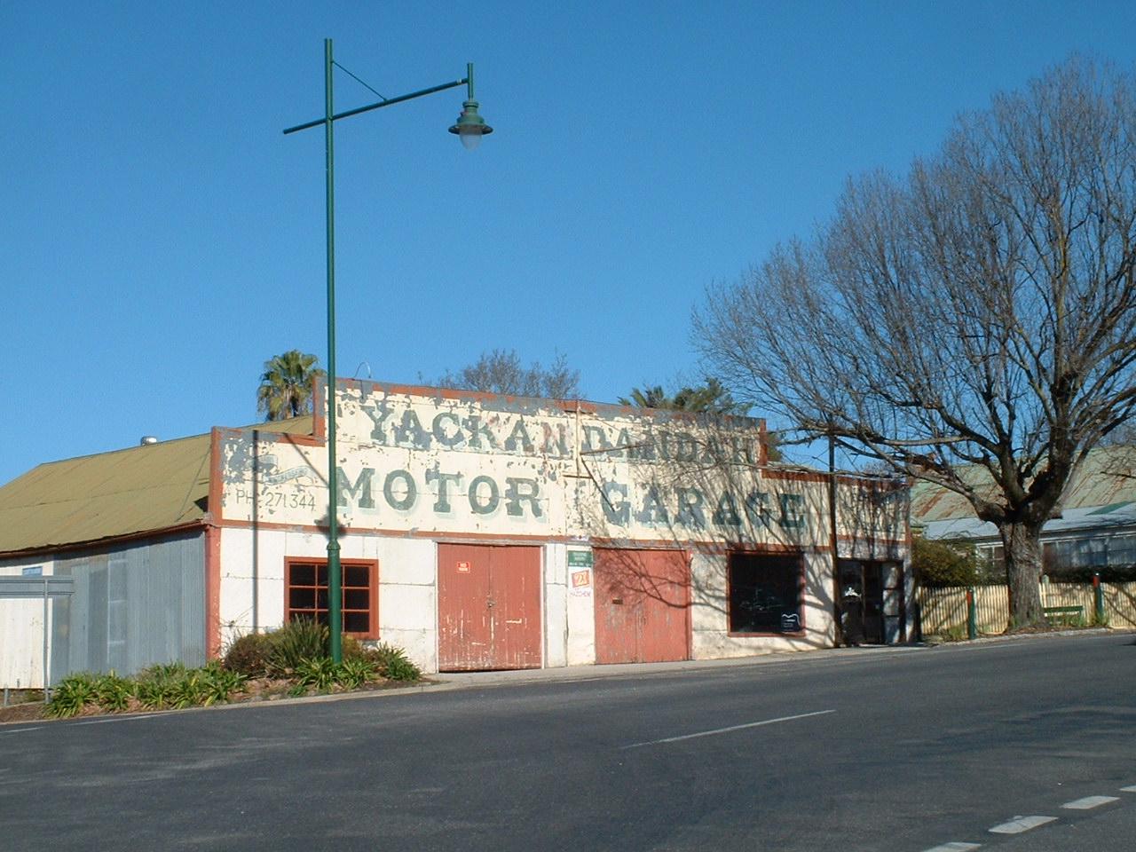 Joanna Baker Yackandandah Motor Garage