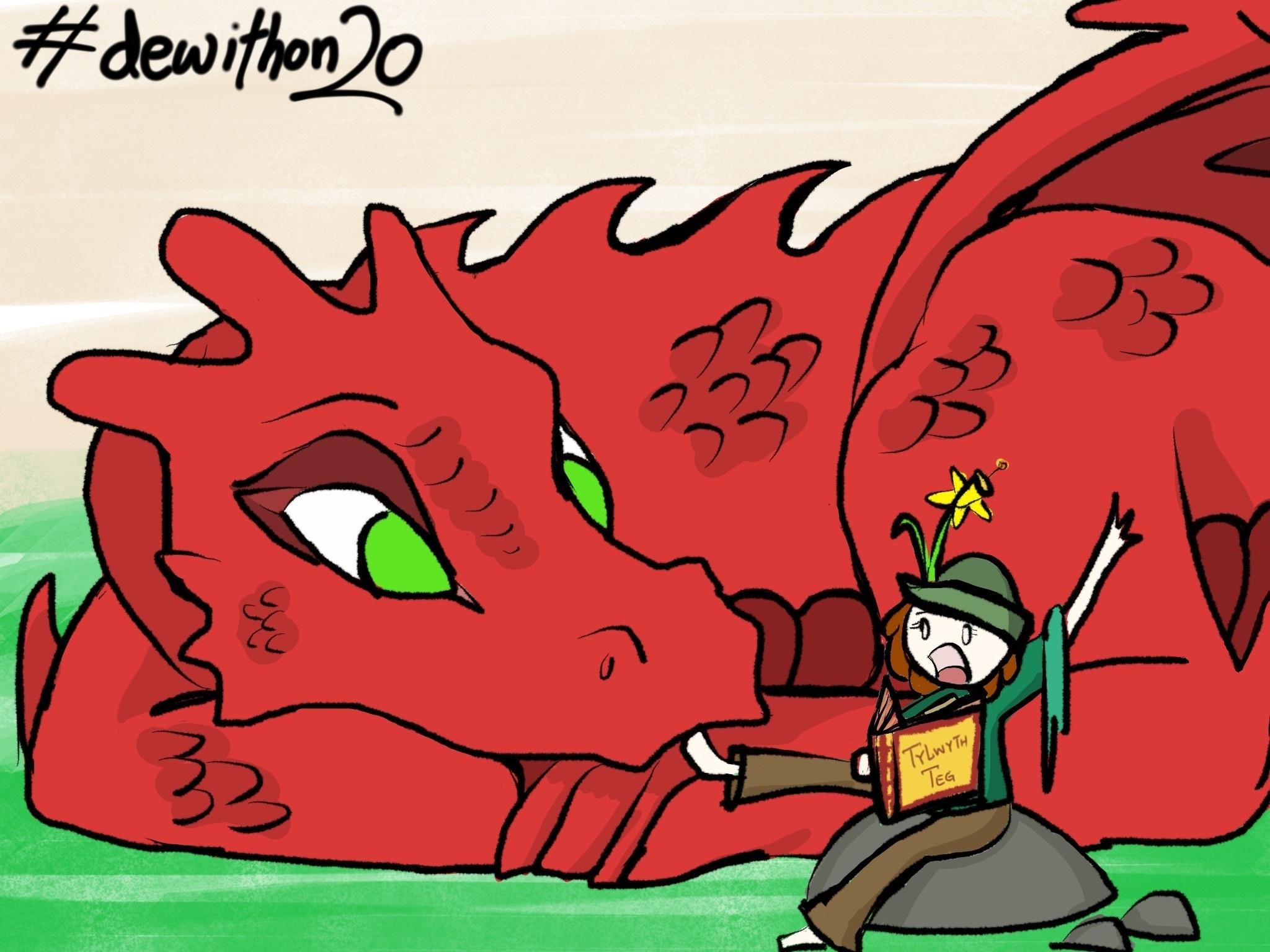 Wales Dragon Readathon Dewithon2020 (2)