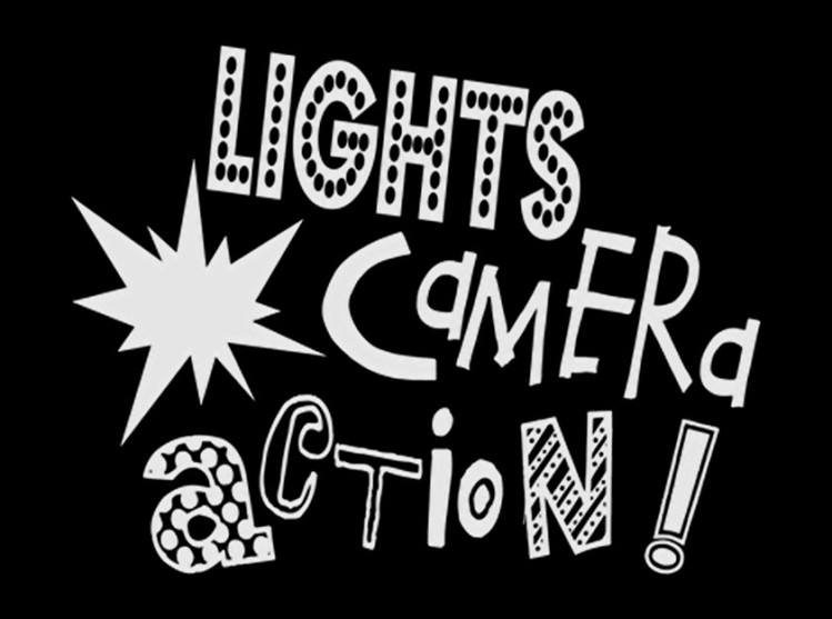 Film Camera Lights Action Movie